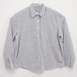 Pendleton Striped Button Down Shirt Men's XL